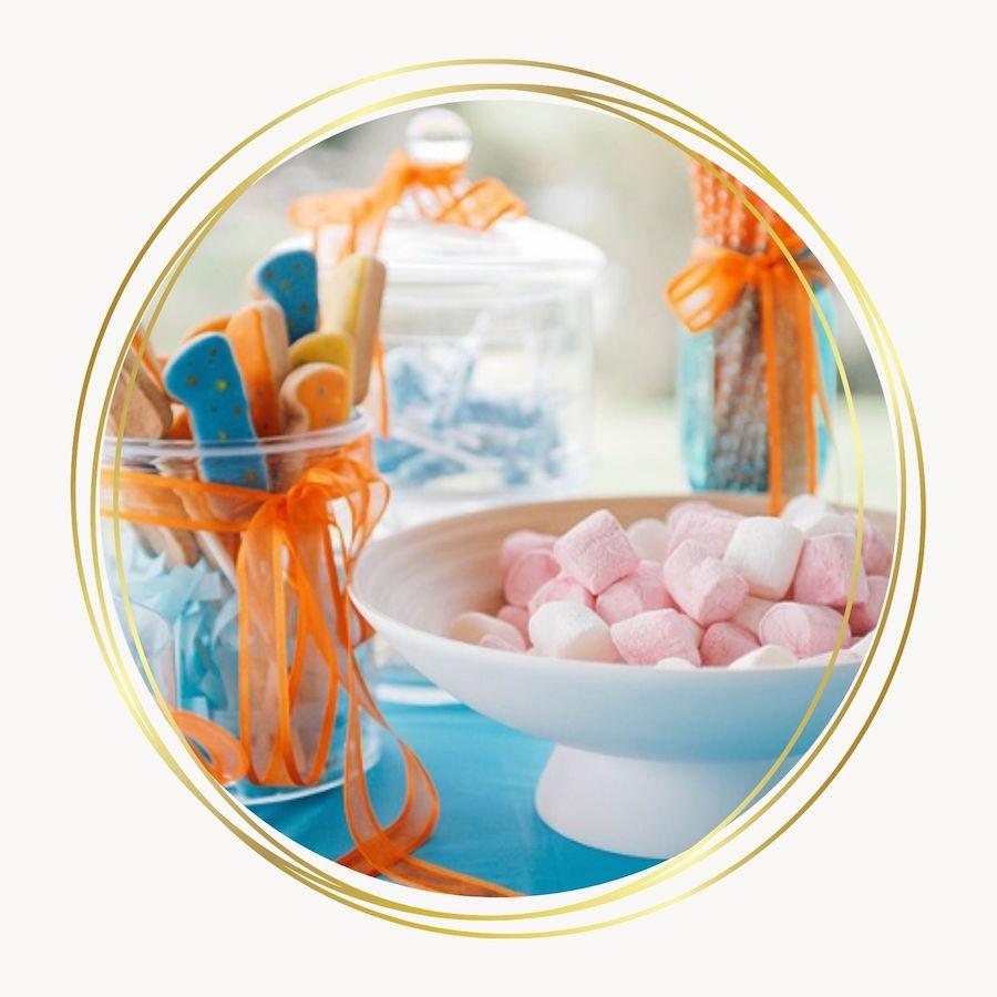 candy bar pour une baby shower - C&D Events Wedding planner / Organisatrice événements enfants Oise et Paris