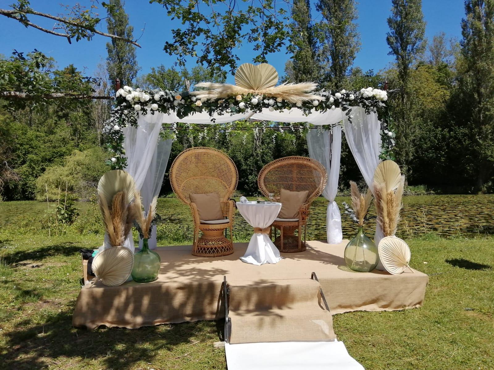 Houppa - Mariage juif - C&D Events - Wedding planner / Organisatrice de mariage dans l'Oise